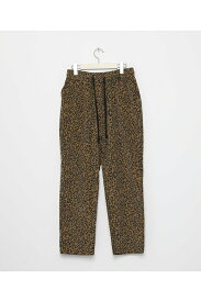【40%OFF】Corduroy Leopard wide pants-BROWN(LEP154) LEGENDA(レジェンダ)