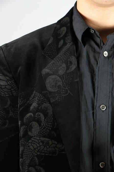 Snake&GrapesBlazer(HC-J28-207-1A19)YohjiYamamoto(ヨウジ・ヤマモト)
