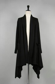 Side Hirahira Dress / BLACK (GA-D02-040-2A19) Ground Y(グラウンド・ワイ)