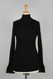 Flarecuffs Rib Knit-BLACK(11920531) Todayful(トゥデイフル)