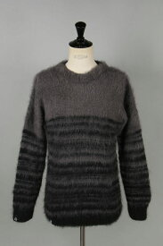 【20%OFF】x FRAGMENT MOHAIR JUMPER / SCRAP (MJS07GB) AKA SIX by Simon Barker(エーケーエー・シックス・バイ・サイモン・バーカー)