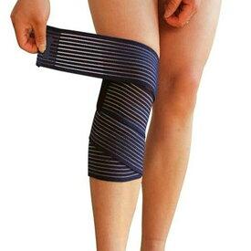 サポーター 膝 腕 スピードラップ ふくらはぎ 肘 肉離れ 男女兼用 ブラック 150cm 送料無料