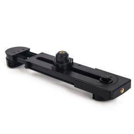 タブレット ホルダー クリップ 1/4 ネジ穴 スタンド 【約55〜278mm】 送料無料