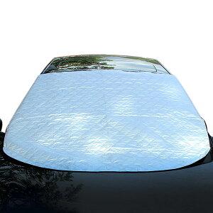 車用 凍結防止カバー フロントガラス 便利 カーシェード M 送料無料