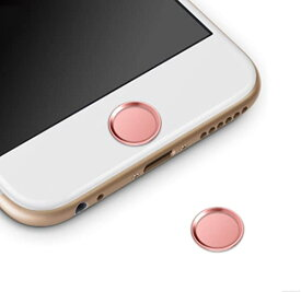 ホームボタンシール 指紋認証可能 iPhone8 iPhone8 Plus iPhone7 iPhone7 Plus iPhone6s iPhone6 Plus iPhone5s iPad miniなど対...