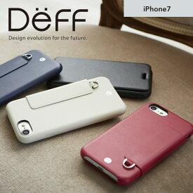 iPhone7 ソフトレザーケース フリップタイプ 手帳型 RONDA Soft Leather Case【送料無料】