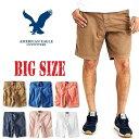 アメリカンイーグル AMERICAN EAGLE チノショーツ ハーフパンツ 38 40インチ 大きいサイズ メンズ あす楽