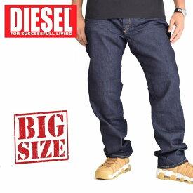 ディーゼル Diesel デニムパンツ ジーンズ レギュラー ストレート WAYKEE WASH 0R8J4 STRETCH 38 40インチ 大きいサイズ メンズ あす楽