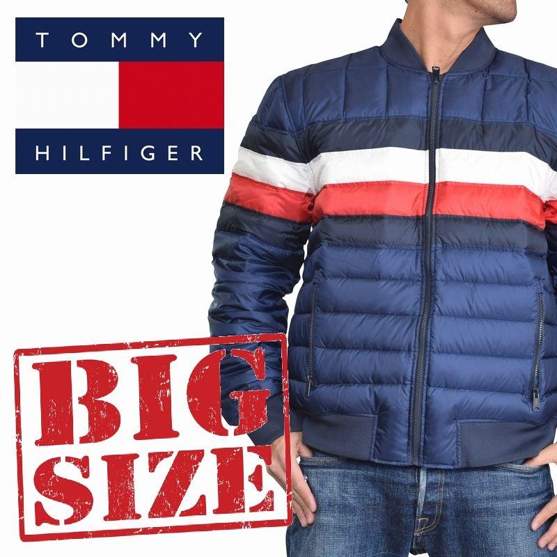 大きいサイズメンズ TOMMY HILFIGER トミーヒルフィガー 中綿ジャケット スキージャケット アウター ブルゾン ダウン XL XXL