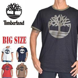 ティンバーランド Timberland リンガー 半袖 ロゴ Tシャツ XL XXL 大きいサイズ メンズ あす楽