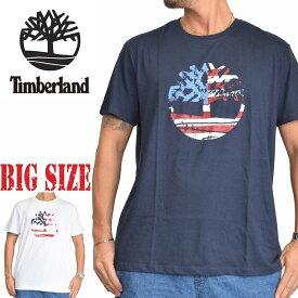 ティンバーランド 半袖 ツリーロゴ Tシャツ USA直輸入 Timberland XL XXL 大きいサイズ メンズ あす楽