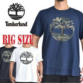 ティンバーランド 半袖 カモツリーロゴ Tシャツ Timberland USAモデル XL XXL 大きいサイズ メンズ [M便 1/1]