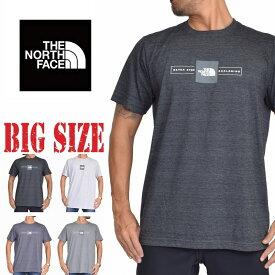 ノースフェイス 半袖 ロゴプリント Tシャツ SLIM FIT THE NORTH FACE SLIM FIT 大きいサイズ メンズ [M便 1/1]