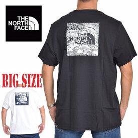 ノースフェイス 半袖 ロゴプリント Tシャツ Redbox Celebration EUライン 海外限定 黒 XL XXL 大きいサイズ メンズ [M便 1/1]
