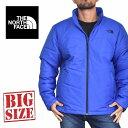 ノースフェイス THE NORTH FACE スタンド中綿ジャケット ダウン アウター ブルー 青 XL XXL 大きいサイズ メンズ あす楽