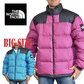 ノースフェイス THE NORTH FACE ダウンジャケット LHOTSE JACKET ボックスロゴ ヌプシ XL 大きいサイズ メンズ あす楽