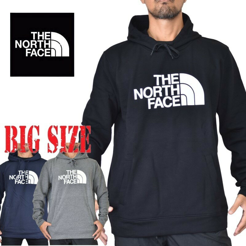 大きいサイズ メンズ ノースフェイス THE NORTH FACE プルオーバー パーカー 裏起毛 スウェット XL XXL XXXL