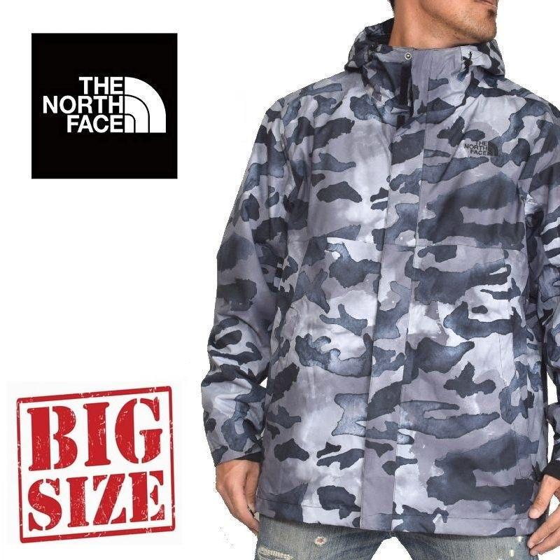 大きいサイズ メンズ ノースフェイス THE NORTH FACE 3WAY ウインドブレイカー フリース 中綿 ジャケット アウター Bergen Peak Jacket XL XXL