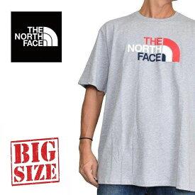 ノースフェイス THE NORTH FACE 半袖 ロゴ プリント Tシャツ USAモデル XL XXL XXXL ハーフドーム HALF DOME 大きいサイズ メンズ [M便 1/1]