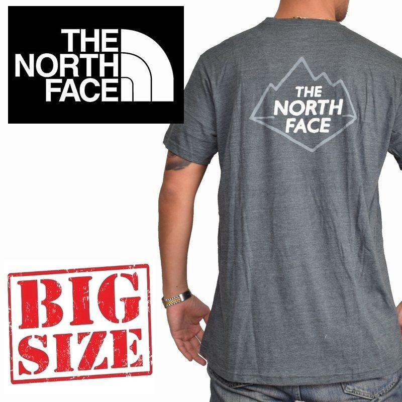 大きいサイズ メンズ ノースフェイス THE NORTH FACE PEEK GEEK PKT S/S TEE 半袖 ロゴプリント Tシャツ ポケット SLIM FIT USAモデル XL XXL XXXL
