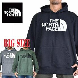 ノースフェイス THE NORTH FACE XL XXL パーカー プルオーバー 裏起毛 スウェット 黒 赤 青 黄 大きいサイズ メンズ あす楽