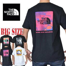 ノースフェイス 半袖 ハーフドーム Tシャツ 黒 白 ヨーロッパライン 海外限定 THE NORTH FACE XL XXL 大きいサイズ メンズ あす楽