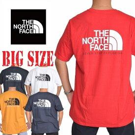 ノースフェイス 半袖 ハーフドーム バックプリント Tシャツ USAモデル XL XXL 白 ホワイト THE NORTH FACE STANDARD FIT 大きいサイズ メンズ [M便 1/1]