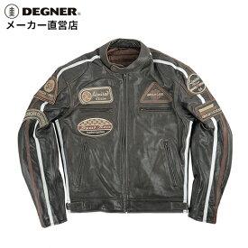 デグナー DEGNER ジャケット シングルライダース 13WJ-1D メンズ 本革 レザー 牛革