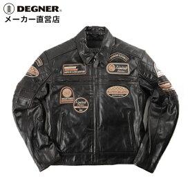 デグナー DEGNER レザージャケット 14WJ-3D 冬 春 秋 メンズ プロテクター装備
