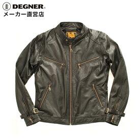 デグナー DEGNER シングルライダースジャケット 8SJ-1 メンズ 黒