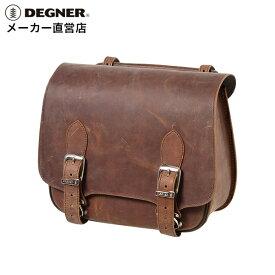 デグナー DEGNER バイク レザー サイドバッグSB-76 ブラウン 本革