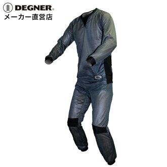 [DEGNER/デグナー] 기능 소재/COOL MAX/여름 이너 이너 슈트 (투피스)/INS-2P-1T [DEGNER/デグナー]