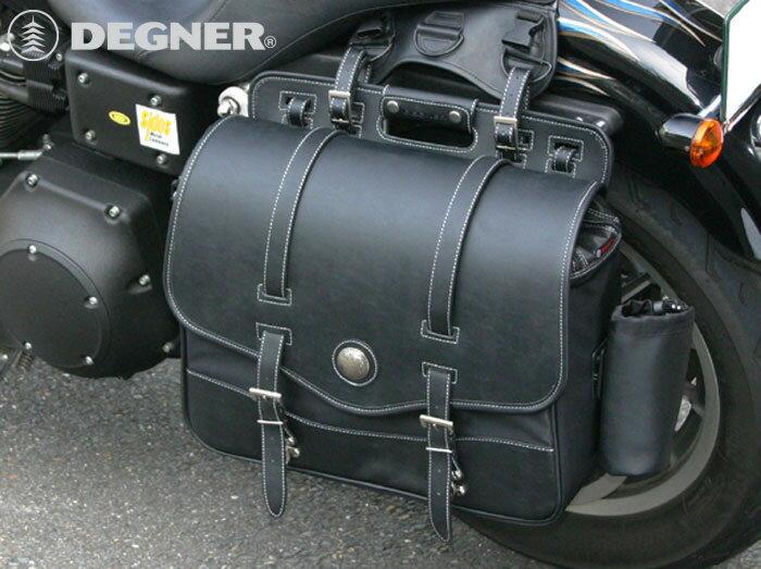 サイドバッグ テキスタイル サイドバック ハーレー アメリカン サイドバッグ バイカーズ バイク サイドバッグ 合皮 鉄馬 ナイロン ツーリング サイドバッグ DEGNER デグナー NB-10 送料無料