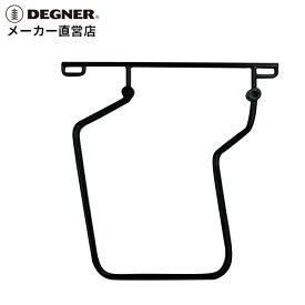 デグナー DEGNER ハーレー バイク スポーツスター 専用 04年〜19年 スライドレール サドルバッグサポート 一体型 取付 簡単 左側 DEGNER デグナー SBS-1(ブラック)