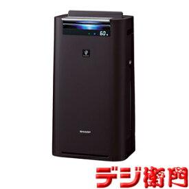 シャープ 空気清浄機 KI-GS50-H グレー系 加湿機能付 プラズマクラスター25000搭載 /【Mサイズ】