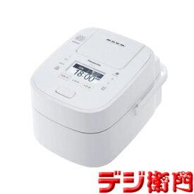 パナソニック 5.5合炊き圧力IH炊飯ジャー 炊飯器 Wおどり炊き SR-VSX108-W ホワイト /【Sサイズ】