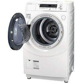 (納期目安:2ヶ月〜)シャープ 【左開き】10.0kgドラム式洗濯乾燥機 ホワイト ESH10EWL ※配送設置:最寄の商品センターよりお伺い致します。[※サービスエリア外は別途配送手数料が掛かります]