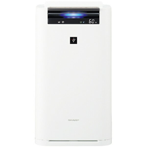 (お取り寄せ)シャープ プラズマクラスター加湿空気清浄機 KI-HS70-W(ホワイト系)
