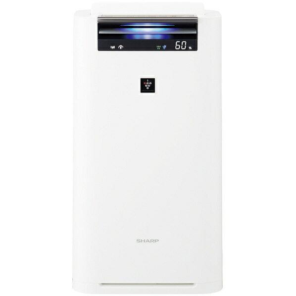 (お取り寄せ)シャープ 加湿空気清浄機 KuaL プラズマクラスター ホワイト KIS50E5W