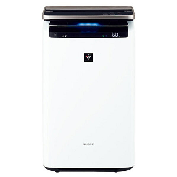 (物流在庫あり)シャープ 加湿空気清浄機 プラズマクラスター ホワイト KI-HP100-W [KIHP100W]