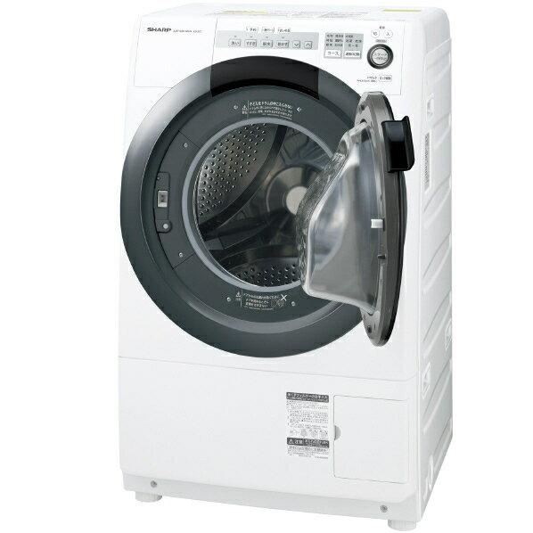 シャープ 【右開き】7.0kgドラム式洗濯乾燥機 ホワイト系 ESS7CWR ※配送・設置は、最寄のエディオン配送センターよりお伺いいたします。[全国送料無料 ※一部地域を除く]