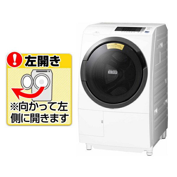 日立 BD-SG100CL W【左開き】10.0kgドラム式洗濯乾燥機 ビッグドラム ホワイト [BDSG100CLW] ※配送・設置は、最寄のエディオン配送センターよりお伺いいたします。[全国送料無料 ※一部地域を除く]