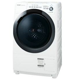 (納期1ヶ月〜)シャープ 【右開き】7.0kgドラム式洗濯乾燥機 ホワイト系 ESS7DWR ※配送設置:最寄のエディオン商品センターよりお伺い致します。[※サービスエリア外は別途配送手数料が掛かります]
