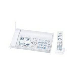 (お取り寄せ)パナソニック デジタルコードレスFAX(子機1台タイプ) おたっくす ホワイト KX-PZ300DL-WN [KXPZ300DLW]