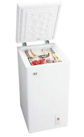 (お取り寄せ)ハイアール 66L チェストタイプ 冷凍庫(フリーザー)直冷式 ホワイトHaier JF-NC66F(W)