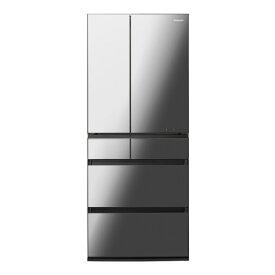 (納期目安:3-4週間〜)パナソニック NR-F657WPX-X 650L 6ドアノンフロン冷蔵庫 オニキスミラー [NRF657WPXX] ※配送設置:最寄の商品センターよりお伺い致します。[※弊社サービスエリア内に限ります][※サービスエリア外は佐川急便にて手配]