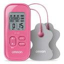 (在庫あり)オムロン (OMRON)低周波治療器 HV-F021-PK(ピンク)