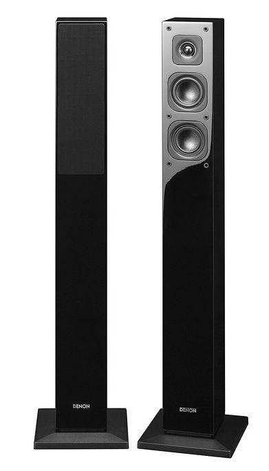 (お取り寄せ)DENON SC-17 SC-37 シリーズ フロントトールボーイスピーカー ハイレゾ対応 (1台) ブラック SC-T17K