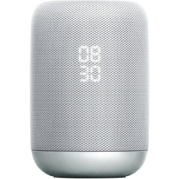 (在庫あり)SONY Google Assistant対応ワイヤレススピーカー スマートスピーカー ホワイト LF-S50G WC [LFS50GWC]