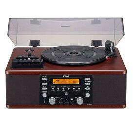 TEAC LP-R560K-WA ターンテーブル/カセットプレーヤー付CDレコーダー [LPR560KWA]